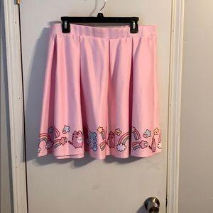 PusheenxCare Bear Skirt